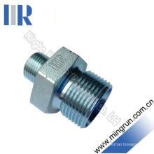 Bsp Male Double Use Adapter Hydraulic Nipple (1B)