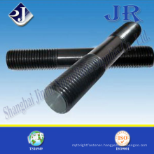 All Size Double End Studs with Black Zinc Made in China Jinrui