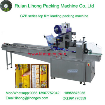 Gzb-350A High Speed Pillow-Type Automatic Chopstick Flow Wrapping Machine