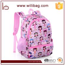 2016 bonito fantasia escola saco meninas Cartoon imagem de saco de escola