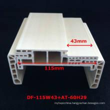 New Arrival a Style WPC Door Frame Laminate Door Profile Door Pocket Strong and Durabale Df-115W43