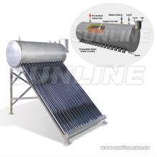 Copper Coil calentador de agua solar (calentador de agua solar, ISO9001, KEYMARK SOLAR, CE, SRCC) Piscina