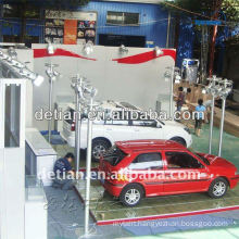lighting car showroom design easy to install from shanghai china