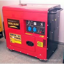 6kVA (6KW) Silent Diesel Generator with Big Tank