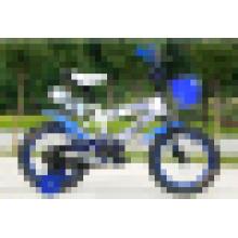 Infantil bicicleta, bicicleta del cabrito, bici de los cabritos con el asiento de muñeca