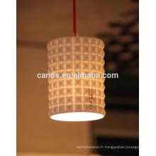 Lampe en céramique de qualité supérieure plafonnier suspendu
