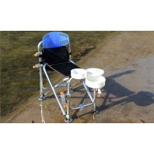 Cadeira multifuncional de pesca com dobra