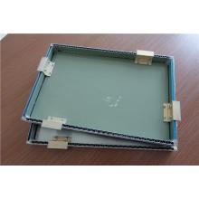 Panel de aluminio ondulado de sándwich Panel de aluminio corrugado