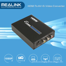 HDMI to RCA AV/S-Video Converter (720P / 1080P HD Upscaler)