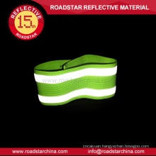 100%Polyester material elastic reflective armband