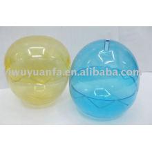 Recipiente de cápsula de plástico vazio para máquina de venda de brinquedos