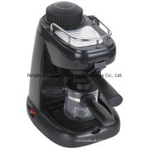 Elétrico de café expresso e Cappuccino Maker 4 xícaras