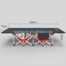 Lightweight Folding Beach Bed Modern Military Folding Camping Bed