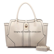 Simplicity Twist Lock PU Leather Ladies Tote Bag (ZXS0080)