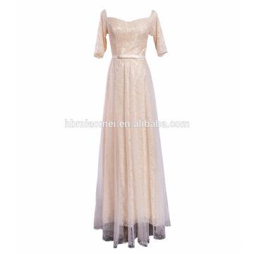 Свадебные Совок Декольте Полный Назад Кружева Цельный Популярный Индийский Свадебные Платья