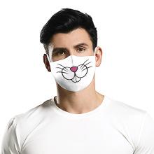 Máscara de diseño impreso en 3D de Halloween Theme