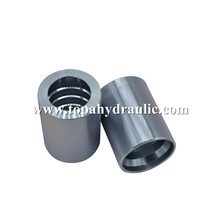 High Quality for Hydraulic Hose Ferrule Fittings Fully stocked nickle plating ferrule for hose export to Tajikistan Supplier
