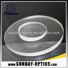 15 degree Beam Deviation 25.4mm dia Uncoated Round Wedge Prisms Optical Glass