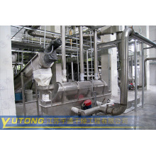 Egg Horizontal Vibrating fluid bed dryer