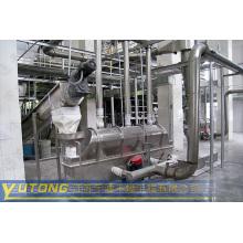 Secador de leito fluidizado vibratório para indústria farmacêutica