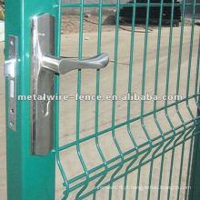 Aço de alta qualidade galvanizado cerca de portão