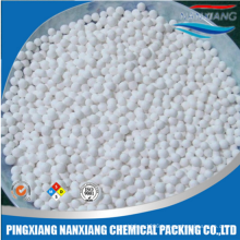 5-8mm Activated alumina ceramic ball catalyst carrier