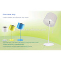 colorful solar home light onthe table