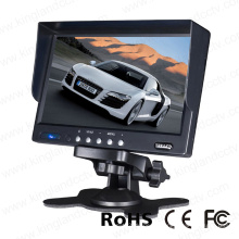 7 Inch Stand Alone TFT LCD Car Rear View Monitor