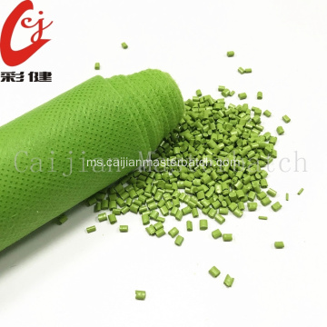 Nylon Grass Green Masterbatch Granules
