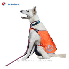 Lightweight Hunting Service Reflective Dog Gear Jacket Vest For High Visibility Night Walking