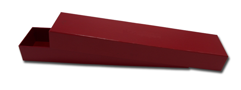 Red long shape boxes