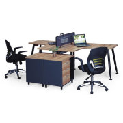 More People Workstation / Filing Cabinet-Ideal Office Furniture
