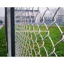 Valla de enlace de cadena / valla de malla de alambre de acero inoxidable