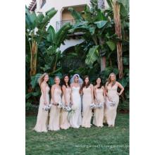 Elegant A-line Floor Length Chiffon Sweetheart Made To Order Bridesmaid Dresses China DB107