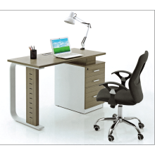 single faddish office working staff table with drawer