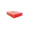 Rectangle red components packaging box