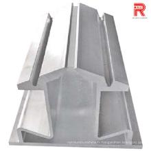 Profils d'extrusion en aluminium / aluminium 7075-T6 pour usage industriel