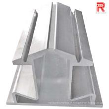 7075-T6 Perfis de extrusão de alumínio / alumínio para uso industrial