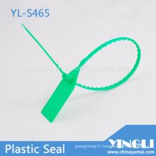 Bracelet en plastique sac sceau avec dents pour Banque sacs réservoirs