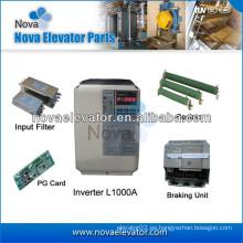 3.7 ~ 75KW Corriente de entrada de la corriente 10.4 ~ 142A Corriente de salida 9.2 ~ 150A L1000A Elevador Yaskawa AC VariSpeed Inverter