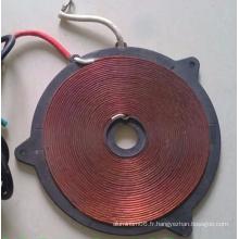 Conception client Hot Sale Copper Coil Winding Factory, dissipateur de chaleur