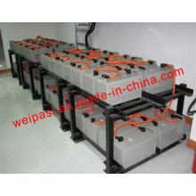 Suportes de montagem de bateria Baterias Moldura de aço Cobertura de bateria Rack de carga Serviço personalizado