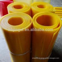 Feuille de plastique PU feuille de polyuréthane