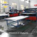 JINBAO 4x6ft 0.5 densité pvc feuille épaisseur 2mm mousse pvc feuille