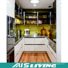 Forma de galeria com móveis de gabinete de cozinha de design de laca (AIS-K170)