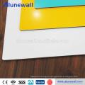 Panneau composé en aluminium de revêtement de PVDF ACM pour la décoration de mur rideau