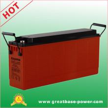 Bateria de gel de terminal terminal da bateria de ácido de chumbo 100ah 12V para telecomunicações