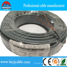 2*2.5mm2 Flat Cable PVC Insulation Flat Power Cable