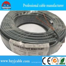 Плоский силовой кабель с изоляцией из ПВХ 2 * 2.5мм2