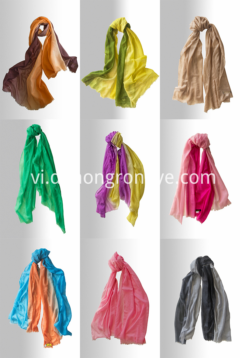 Ultrathin Gradient Scarf 3